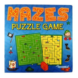 MAZES PUZZLE GAME BOOK - BOOK 1 (BLUE CVR)