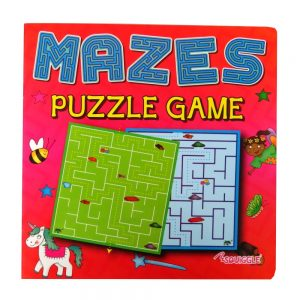 MAZES PUZZLE GAME BOOK - BOOK 2 (RED CVR)