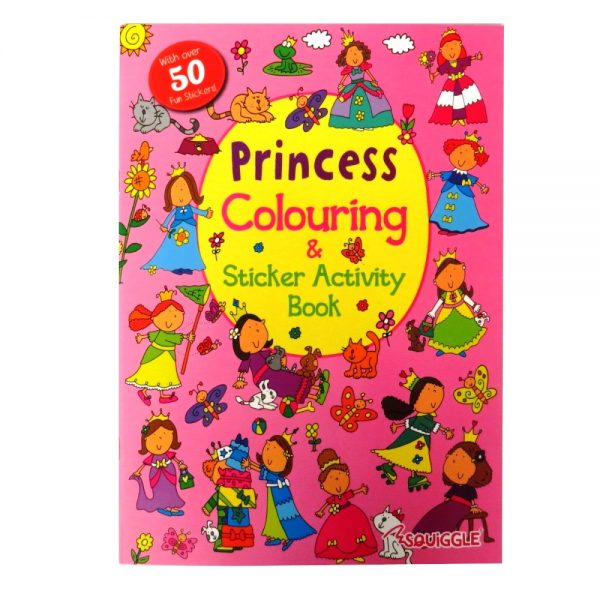 SQUIGGLE PRINCESS STICKER & ACTIVITY BOOK