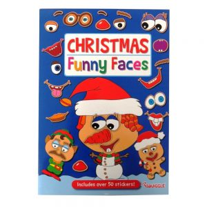 CHRISTMAS FUNNY FACES STICKER BOOK