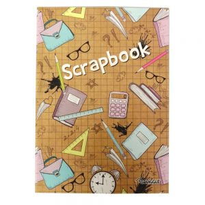 A4 SCRAPBOOK - EDUCATION COVER