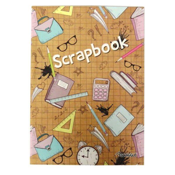 A4 SCRAPBOOK - EDUCATION COVER