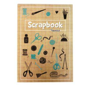 A4 SCRAPBOOK HABERDASHERY COVER