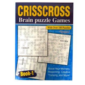 CRISSCROSS PUZZLE BOOK - BOOK 1
