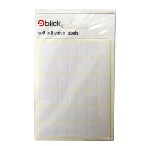 BLICK WHITE LABELS 294 - 9MM X 16MM