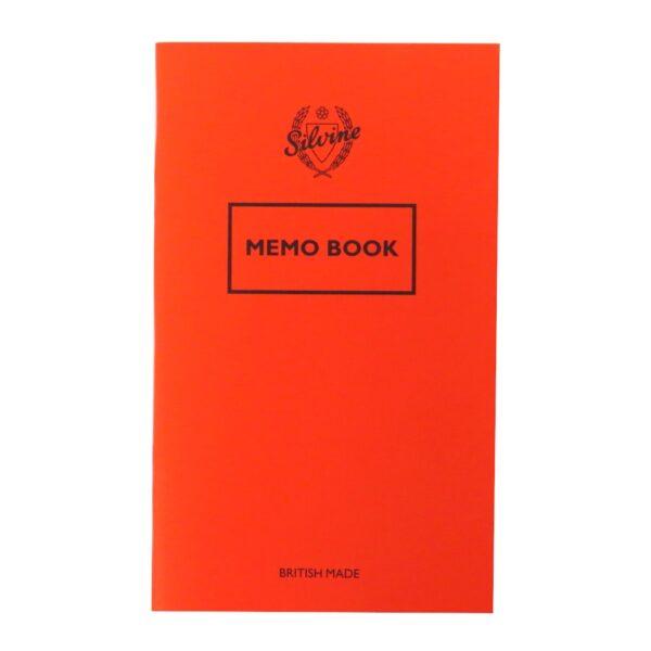 SILVINE MEMO BOOK REF042F