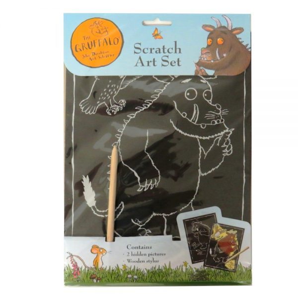 THE GRUFFALO SCRATCH ART SET