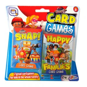 CARD GAMES HAPPY FAMILIES AND SNAP