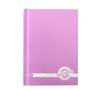Premto A6 Hardcover Notebook Wild Orchid Front