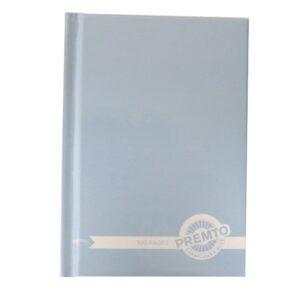 Premto A6 Hardcover Notebook Pink Cornflour Blue Front