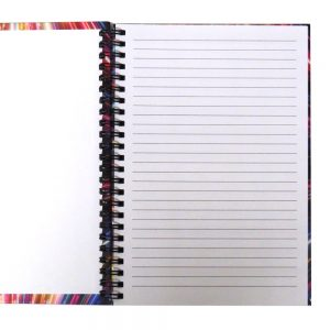 I Love Stationery A5 Wiro Notebook Fireworks Front 3