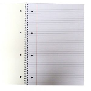 Premier A4 Wirebound Notebook 4 Holes, Perforated Front 2