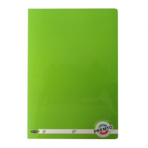 Premto A4 Exercise Book 160 Pages Caterpillar Green Front