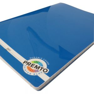 Premto A4 Exercise Book 160 Pages Printer Blue Front 2