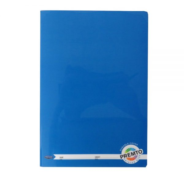 Premto A4 Exercise Book 160 Pages Printer Blue Front
