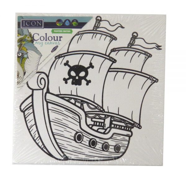 Colour My Canvas Pirate Ship Front 2
