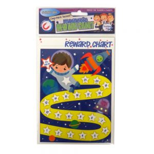 Magnetic Reward Chart Boys Rocket Front