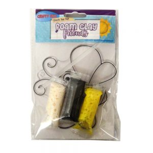 Foam Clay Friends Craft Bee Front