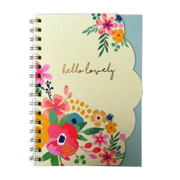 Hello Flower A5 Wiro Notebook Hello Lovely