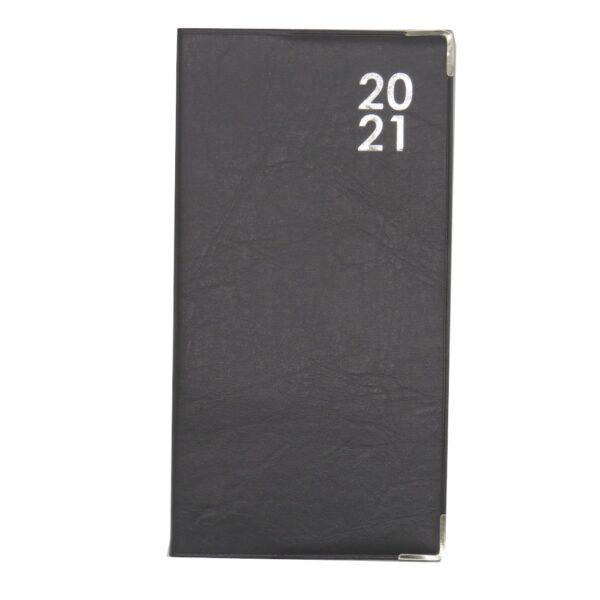 Slim 2021 Organiser Diary Grey Front