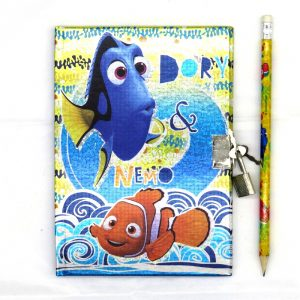 Finding Dory Nemo Secret Notebook and Pencil Front 2