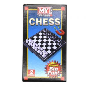 Magnetic Travel Game Chess Front