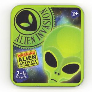 Snap Game In A Tin Alien Invasion Front