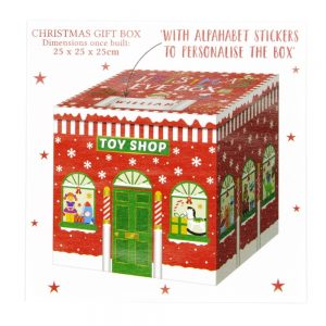 Large Christmas Eve Gift Box Toy Shop Front 2