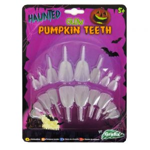 Halloween Pumpkin Buck Teeth