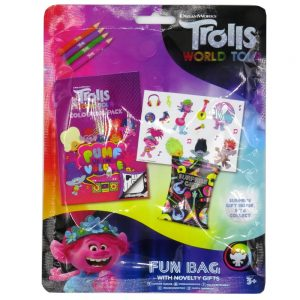 Trolls World Tour Fun Bag with Surprise Gift Front