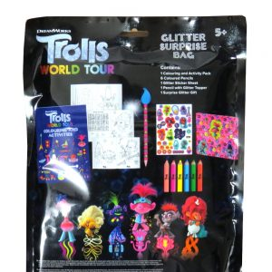Trolls World Tour Glitter Surprise Bag Front 2