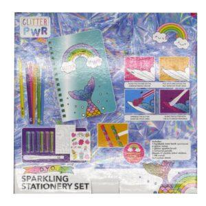 Design Your Own Sparkling Stationery Set Front 2