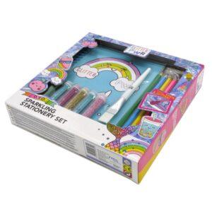 Design Your Own Sparkling Stationery Set Front 3
