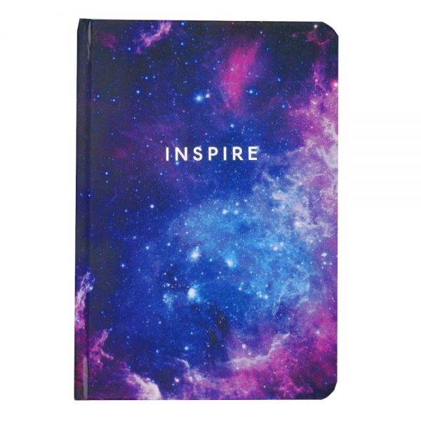Metallic Dreasm A5 Notebook Inspire Graph Ruled Front 3