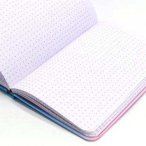 Metallic Dreams A5 Notebook Dream Dot Ruled Front 3