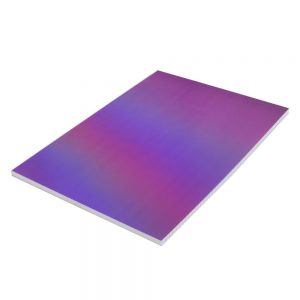 A4 Metallic Dreams Notebook Purple Line Ruled Front 2