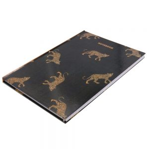 A4 Hard Cover Notebook Leopard Front 2