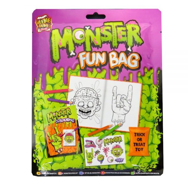 Grafix Halloween Monster Fun Bag Front