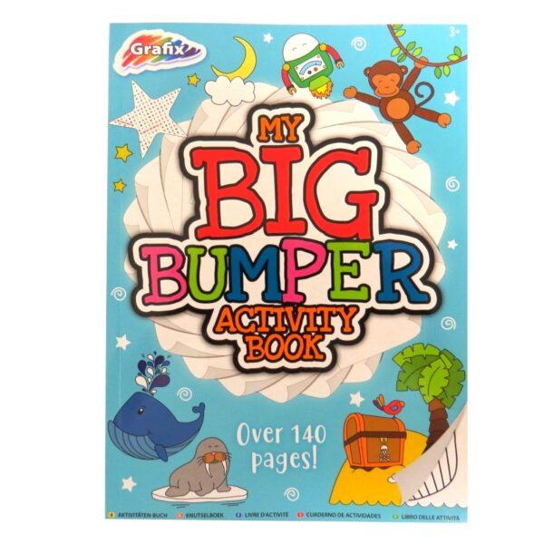 Grafix My Big Bumper Activity Book Front