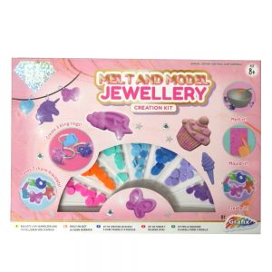 Grafix Melt and Mould Jewellery Creation Kit Front