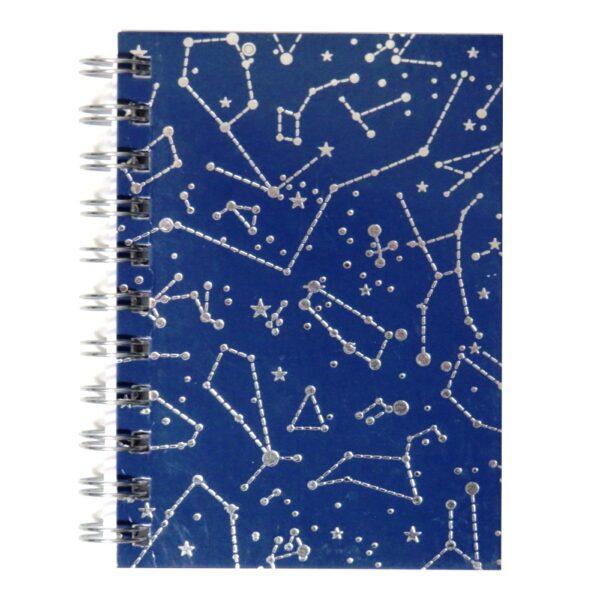A6 Wirebound Notebook Constellations - Front 2