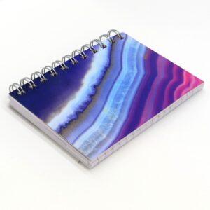 A6 Wirebound Notebook Ripple Waves - Front 2