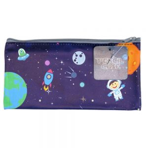 Space Pencil Case Front