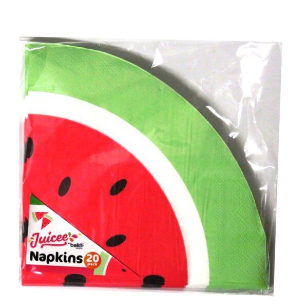 Paper Napkins Melon Front