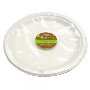 Biodegradable Plates Front 2