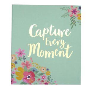 Hello Flower 6 x 4 Photo Album Capture Every Moment Front