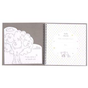 Hugs and Kisses Baby Record Keepsake Book Front 2