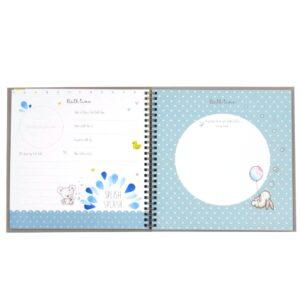 Hugs and Kisses Baby Record Keepsake Book Front 4
