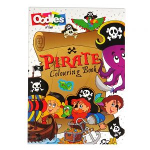 Oodles Pirate Colouring Book Front