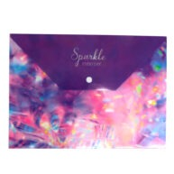 A4 Document Wallet Sparkle Every Day Front